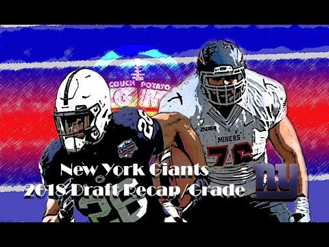 Saquon Barkley! Run left! - New York Giants Draft Recap (CPGM) 2018