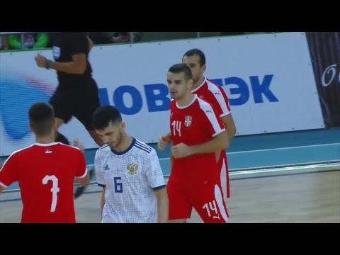 Товарищеский матч. Россия - Сербия. 1 матч (видео)
