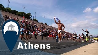 Athens Marathon | The Finish Line | Video7