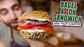 The Bagel Sandwich that New York Created by Brothers Green Eats