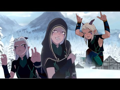 Rayla's Funniest Moments from Season 1 of The Dragon Prince