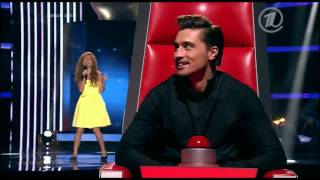 Amazing Voice! Darina Ivanova sings 'Believe me' The Voice Kids Russia Blind Auditions