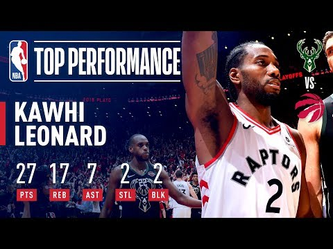 Kawhi Leonard Leads The Raptors To The NBA Finals! | May 25, 2019