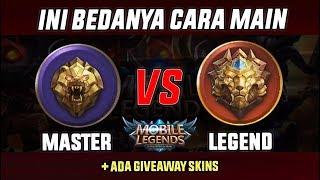Download Video PERBEDAAN CARA MAIN RANK MASTER vs LEGEND - Mobile Legend Indonesia MP3 3GP MP4