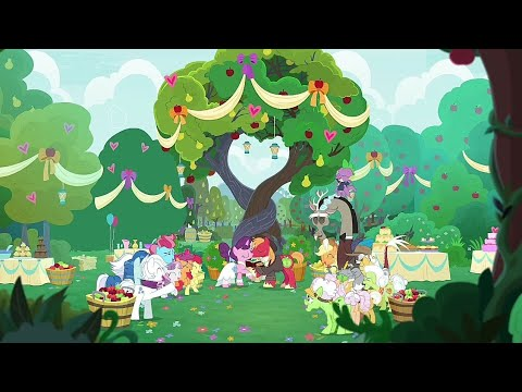 Big Mac & Suger Belle Gets Married - My Little Pony: FIM Season 9 Episode 23 (The Big Mac Question)