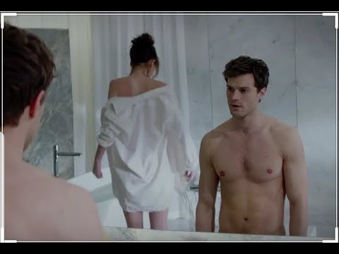Fifty Shades of Grey  - The interview - SEX SCENE AND KISS