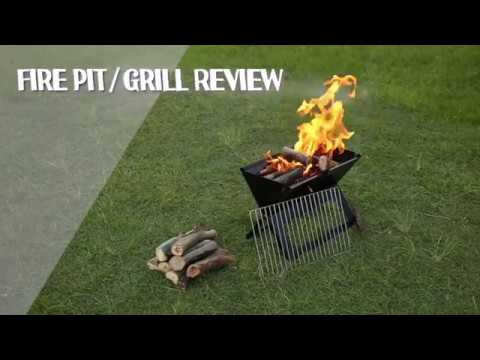 Review: VicOffroad Folding Fire Pit + Grill