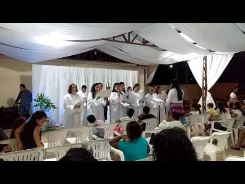 É pra quem vencer novos convertidos Assembleia de Deus de Glória D'Oeste MT