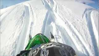4. ARCTIC CAT M5 VS STEEP HILL ALWAS RIDE FULL THROTTLE PART 1