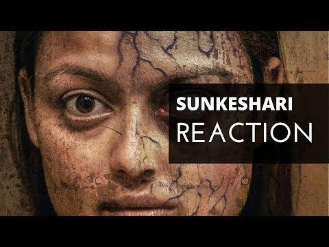 (HORROR MOVIE (SUNKESHARI) - TRAILER REACTION.. 8 min 38 sec)