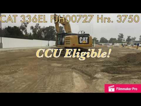 CATERPILLAR TRACK EXCAVATORS 336EL equipment video qZ1OJLl1bPk