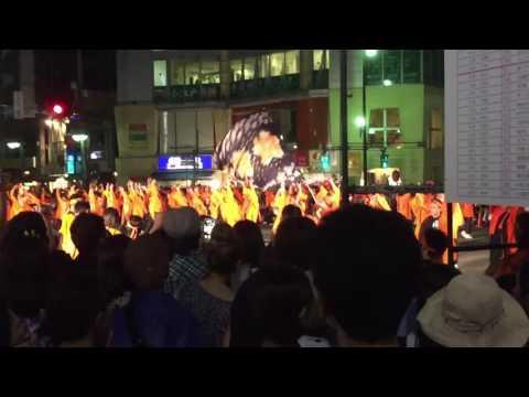 百万灯祭り 2016 高階中学校桜踊華『豪』