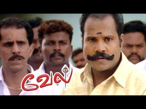 Vel | Vel Movie | Vel Tamil Movie Scenes | Suriya counter attacks Kalabhavan Mani | Surya Mass Scene