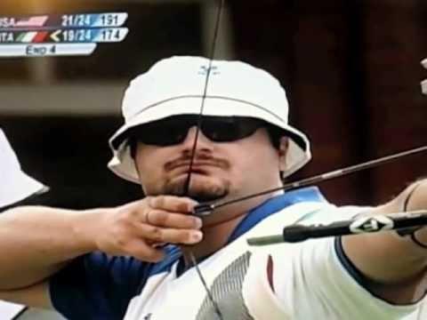 medaglia d'oro di tiro con l'arco - italia batte usa di 1 punto