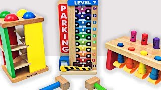 Best Learning Video for Kids Learn Colors & Counting Fun Preschool Toys Learning Movie for Children by Organic Learning.  This family-friendly educational video for children features fun preschool learning toys and ball pounding fun for toddlers to help teach kids about colors and counting to 10. Please take a moment to LIKE our video, SHARE it with family & friends, and SUBSCRIBE to our Organic Learning channel… Your help and support are greatly appreciated!  Subscribe to our YouTube Channel:  http://www.youtube.com/subscription_center?add_user=OrganicLearning Follow us on Twitter:  https://twitter.com/OrganicLearningFollow us on Instagram:  https://instagram.com/OrganicLearningOfficial Website:  https://OrganicLearning.com - Fun Toy Giveways, Coloring Downloads, & More.This fun, educational, early learning video features preschool learning toys for toddlers and ball pounding toys by Melissa & Doug to teach babies and children about basic colors and counting numbers.  If you like preschool learning toys and cars & trucks, be sure to check out our popular family-friendly Big Rig Car Carrier Teaching Colors for Kids #1 Learning Colours Video for Children & Toddlers:  https://youtu.be/-oHiqEt2gzEVideo Created by Megan McIver:  www.meganmciver.comFollow her on Instagram:  www.instagram.com/hellomeganmciverCheck out her YouTube channel:  https://www.youtube.com/channel/UC3PXAioH4Cf5IqY2MkkV4JQOfficial Merchandise:  http://organiclearning.spreadshirt.com/Link to Share this video:  https://youtu.be/qZ3OVi-gAMo Organic Learning Playlists & Videos:Learning Street Vehicles for Kids (50 Mins) Cars and Trucks by Hot Wheels, Matchbox, Tomica, Siku:https://youtu.be/_rLz4DIfBnMLearning Street Vehicles for Kids (44 Mins) Cars and Trucks - Hot Wheels Matchbox Tomica Disney Tayo:https://youtu.be/NONKAr8HEGkLearning Street Vehicles for Kids (38 Mins) Cars and Trucks - Hot Wheels Matchbox Tomica Disney Tayo:https://youtu.be/ZpiYOSqiTDQLearning Street Vehicles for Kids (36 Mins) - Hot 
