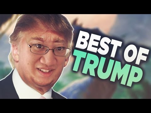 Best of Trump - Hearthstone Funny & Lucky Moments