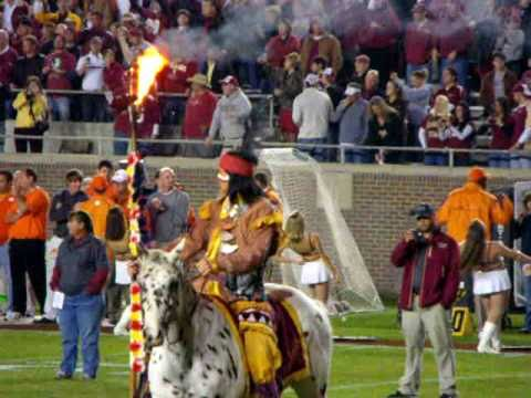 Greatest Traditions in College Football - Chief Osceola, Renegade, and the Warchant