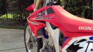 5. My New 2011 Honda CRF250R!