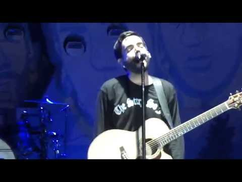 "A Day To Remember- ""'Champagne Supernova"" Oasis Cover Live Charlotte,NC 2014"
