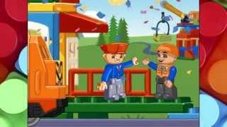 Поезд лего дупло. Lego duplo train