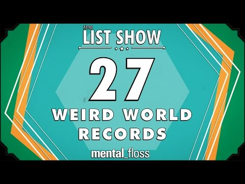 27 Weird World Records