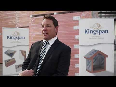 Somerton Launch Sideline Interview - Scott Gibson, MD Asia Pacific Kingspan Insulation