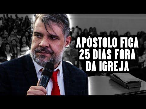 APÓSTOLO VOLTA DEPOIS DE 25 DIAS !!!!!