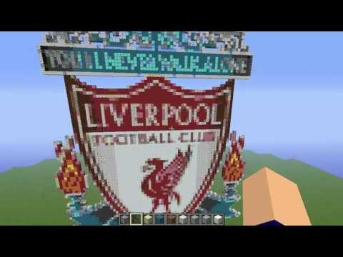 Liverpool Logo On Minecraft