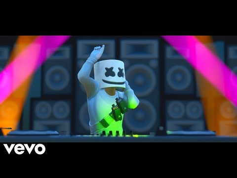 Marshmello ft. Bastille - Happier (Fortnite Music Video) Remastered