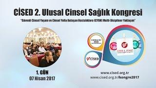 Cinsel Sağlık Enstitüsü Derneği tarafından düzenlenen CİSED 2. Ulusal Cinsel Sağlık Kongresi (07 -09 Nisan 2017 - ANKARA)1. Gün özeti...http://www.cised.org.tr/