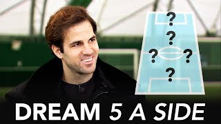 Video Who's the better striker; Thierry Henry or Diego Costa? | Cesc Fabregas Dream 5-A-Side MP3, 3GP, MP4, WEBM, AVI, FLV Desember 2018