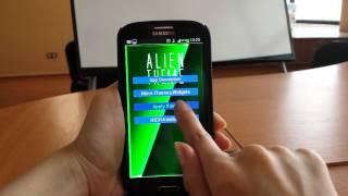 GO Keyboard Alien Hive Theme YouTube video