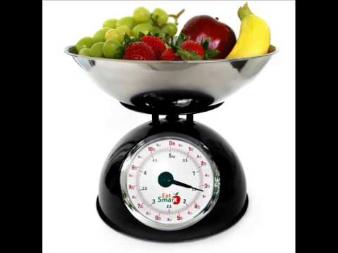 Precision Retro Mechanical Kitchen Scale. Capacity and Oversized Dial; accurate kitchen scales