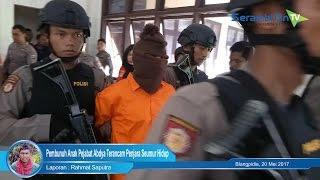 Pembunuh Anak Pejabat Abdya Terancam Penjara Seumur Hidup