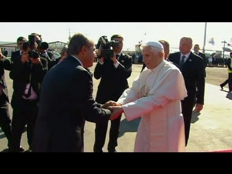 Pope highlights 'problem of drug trafficking' in Mexico