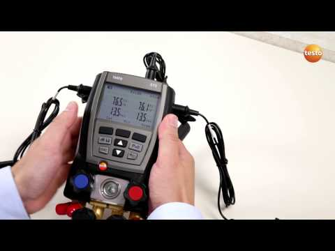 Testo 570 - Step 3 - How to Change the Display