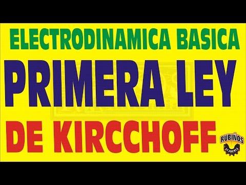 PRIMERA LEY DE KIRCCHOFF