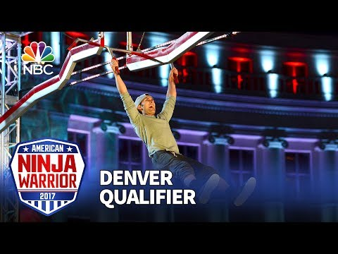 Lorin Ball at the Denver Qualifiers - American Ninja Warrior 2017
