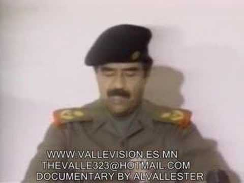 SADDAM HUSSEIN DOCUMENTARY BY LUIS VALLESTER PARTE 4 [PART 4