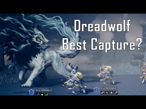 Dreadwolf (Best Capture) - Octopath Traveler
