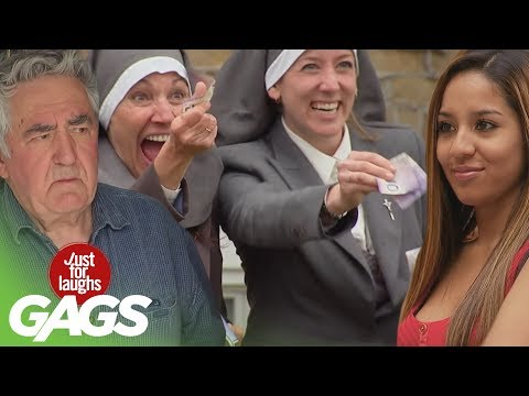 Stripping for Nuns, Backyard Funeral, Shopping Cart Disaster Pranks - Throwback Thursday