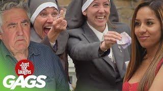 Video Stripping for Nuns, Backyard Funeral, Shopping Cart Disaster Pranks - Throwback Thursday MP3, 3GP, MP4, WEBM, AVI, FLV Desember 2018