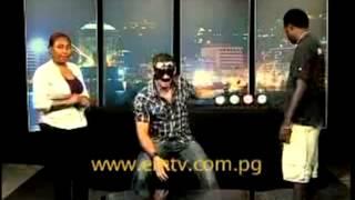 Sydney Mentalist Phoenix visits EM TV, PNG