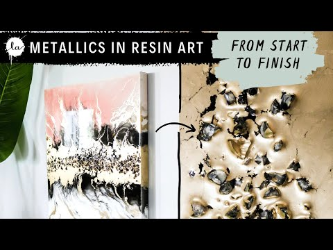 RESIN ART TRICK! How To Make Resin Art! From Start To Finish! Everything About Fluid Art With Resin!