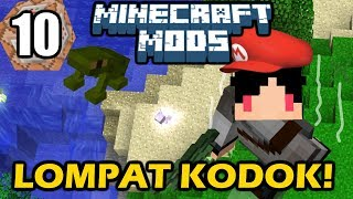 Video Minecraft Mods Indonesia - Lompatan Super Tinggi! (10) MP3, 3GP, MP4, WEBM, AVI, FLV Maret 2018