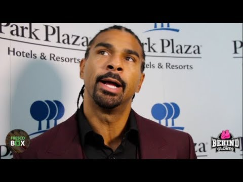 DAVID HAYE ADDRESSES CONCERNS OVER HIS AGE & FITNESS AHEAD OF TONY BELLEW REMATCH