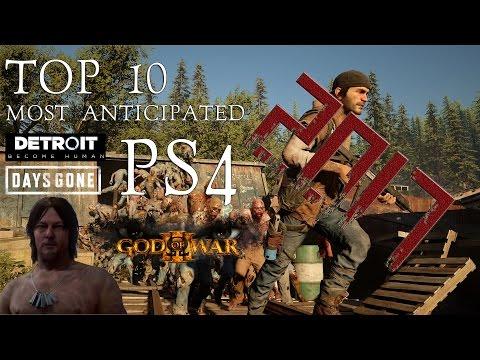 TOP 10 самых ОЖИДАЕМЫХ игр  2017 года | Top 10 Most Anticipated PS4 (видео)