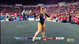 Mary Beth Box (Georgia) 2016 Floor vs LSU 9.925