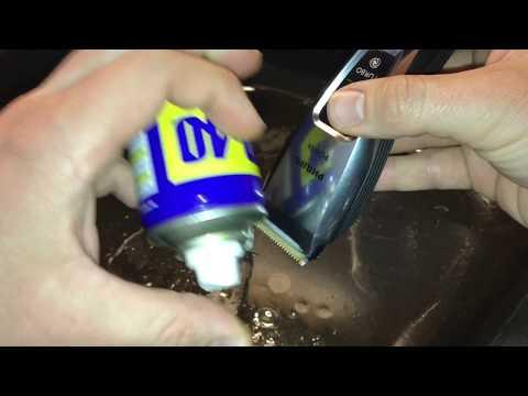 Philips QC5380 Haarschneider reinigen und Klingen schärfen Rasierer Wartung Anleitung