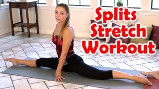 12 Minute Splits Stretch Flexibility Workout For Beginners How To Tutorial For The Splits - YouTube
